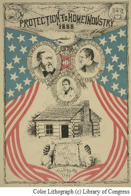 1888PresidentialCampaignPosterwithCopyright
