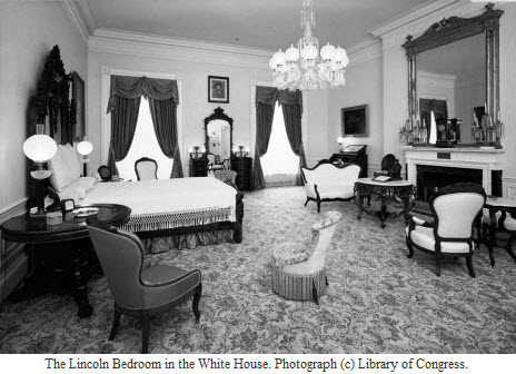 LincolnBedroomPhotoLOC. Knock Knock  Who s There  Spooky Stories from the White House