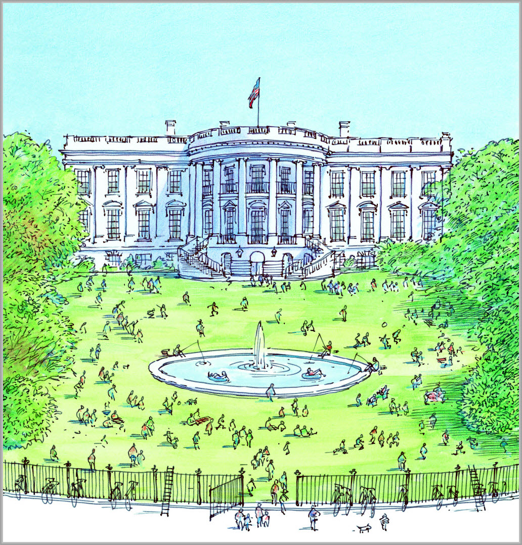 oval office white house. Fine Office OUR WHITE HOUSE Illustration  2008 By David Macaulay Reproduced  Permission Of The Publisher Candlewick Press Somerville MA In Oval Office White House