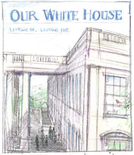 Our White House Cover Sketch © David Macaulay