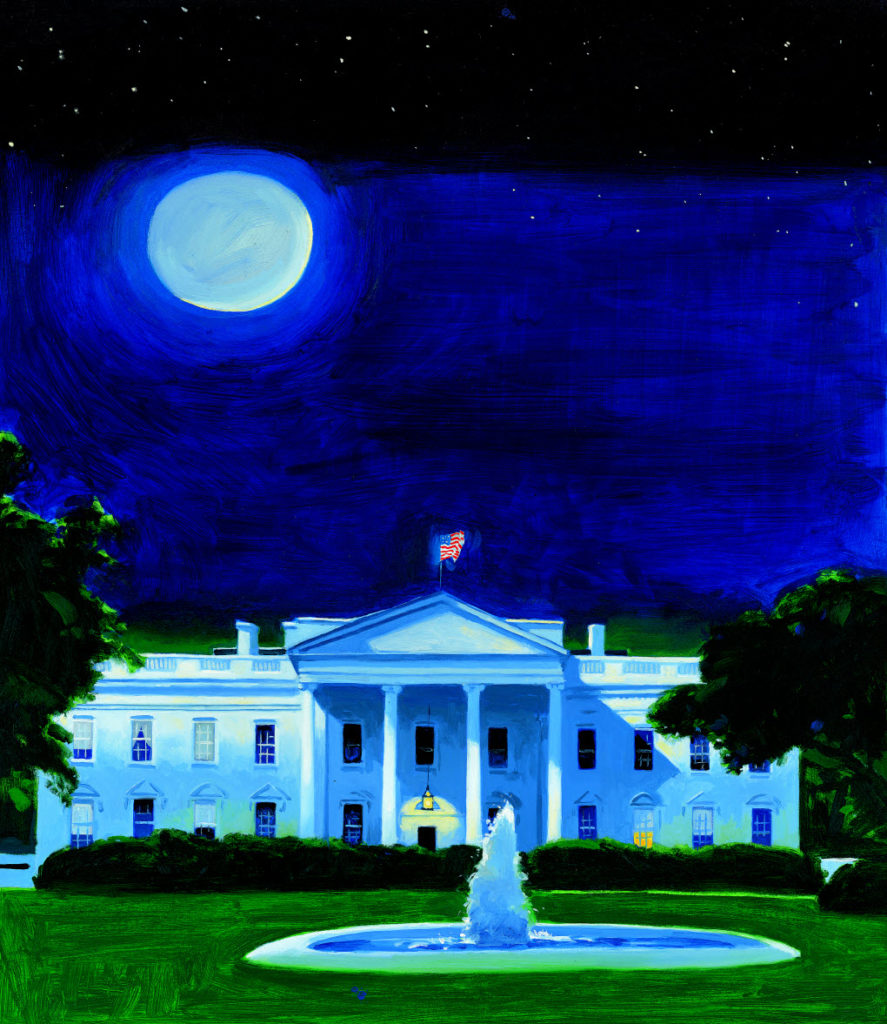 OUR WHITE HOUSE. Illustration © 2008 by James Ransome. Reproduced by permission of the publisher, Candlewick Press, Somerville, MA.